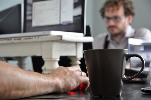 Kaffee. Mac.