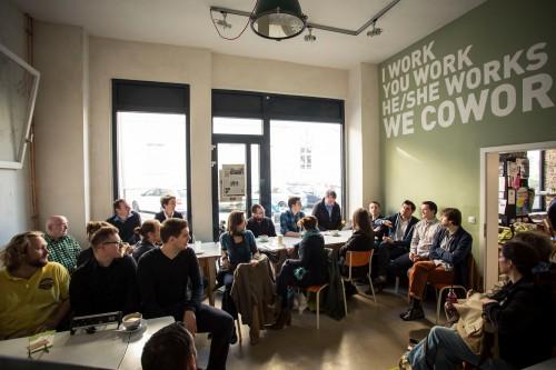 Heimathafen Wiesbaden Coworking Cafe Konferenzraume Events