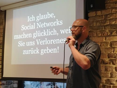 Donnerstalk-Rückblick: Gutenberg 2.0 – Soziale Netzwerke und die neue Macht des kleinen Mannes