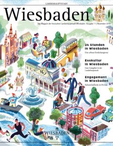 """""""Hier schlägt der Puls der wachsenden Wiesbadener Gründer- und Kreativszene"""" – Wiesbaden-Magazin über heimathafen"""