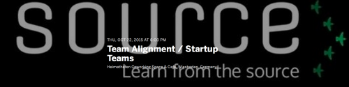 Workshop: Startup Teams, Team Alignment  & Cofounders' Alignment